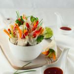 Spring Rolls z chrupiącymi warzywami
