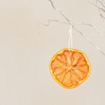 Suszone pomarańcze na choinkę.