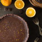 Tarta czekoladowa ze skórką pomarańczy