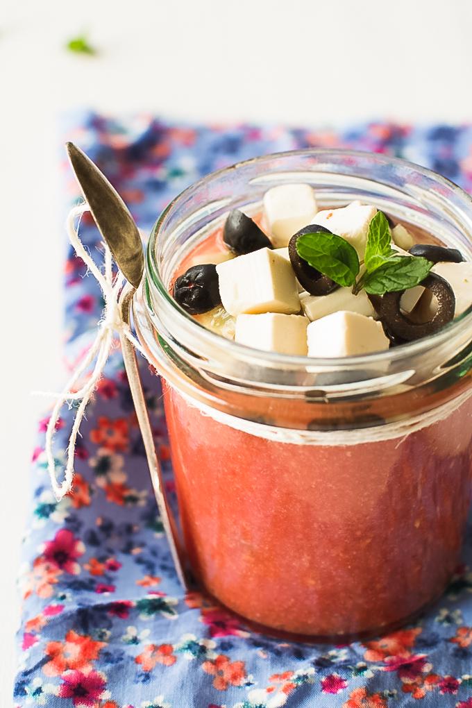 gazpacho z arbuzem
