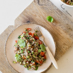 Tabbouleh – ziołowa arabska sałatka