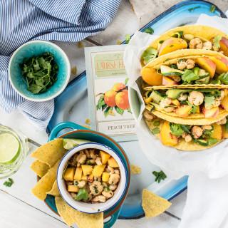 Hello Tacos! Z brzoskwiniami i krewetkami – zestaw idealny