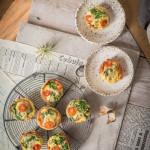 Jajeczne muffiny z szynką parmeńską