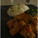 Kurczak Korma z Warzywami