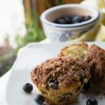Muffiny z borówkami amerykańskimi