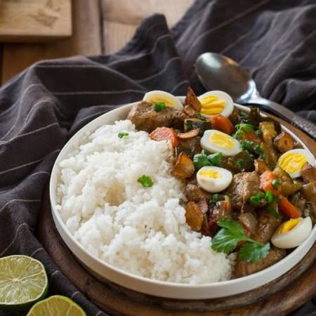 Wieprzowina z pól ryżowych
