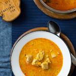 Zupa dyniowa z curry. I o tym jak uprawiać dynię.