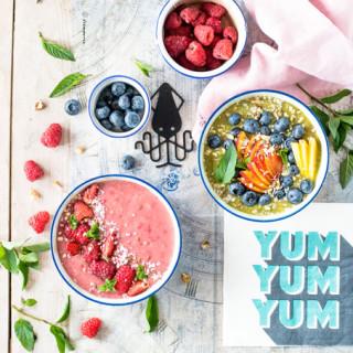 Wakacyjne miski zdrowia czyli smoothie bowls!