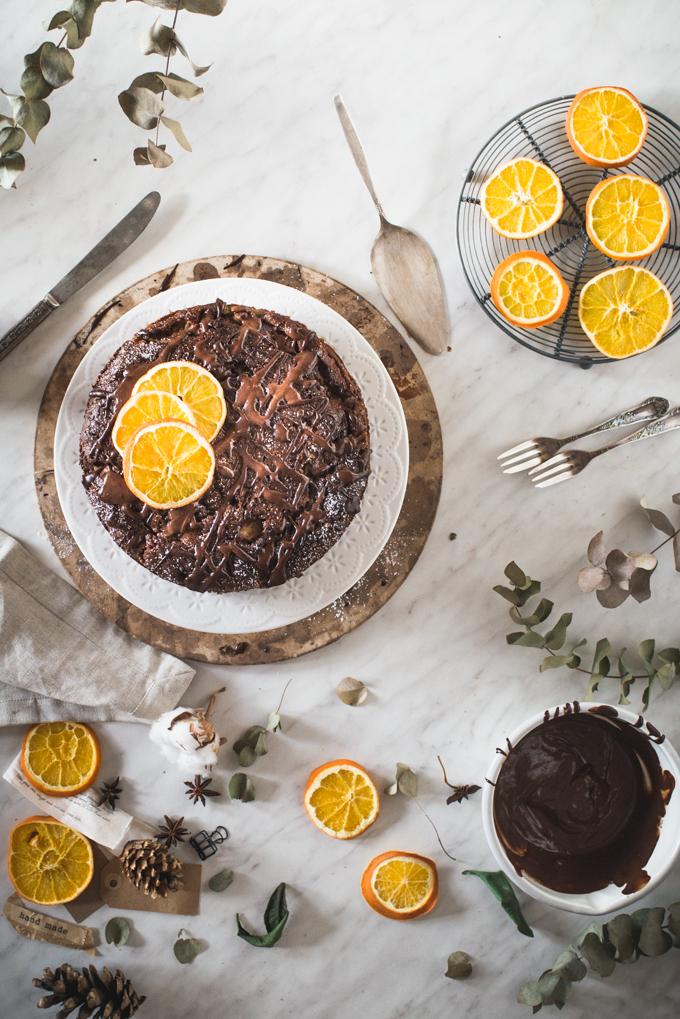 Ciasto czekoladowe z gruszkami-1